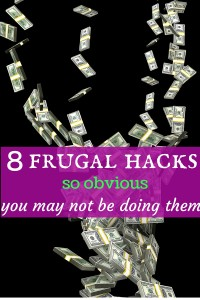 frugality, frugal hacks, saving, cheap, save, personal finance, money