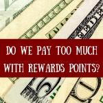 Do rewards points make us pay too much?