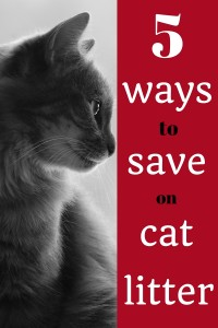 cat litter, saving, save money, personal finance, frugality, pets, pet care