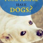 Should poor people have dogs?
