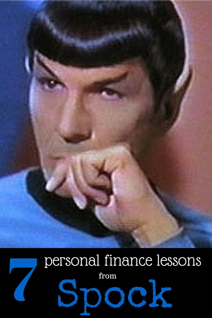 7 personal finance lessons from Spock