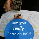 Is it really possible to live on half your income?