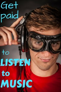 Here's a great way to make money while listening to your favorite songs!