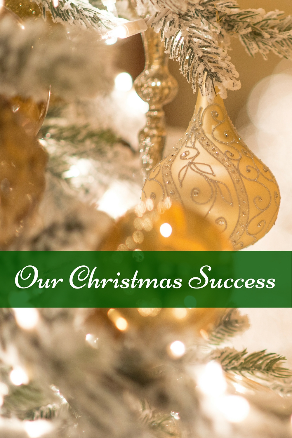 Here's how we had a successful (and under budget!) Christmas
