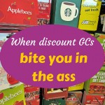 When discount GCs bite you in the ass