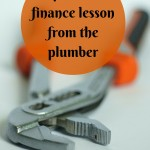 A personal finance lesson from the plumber