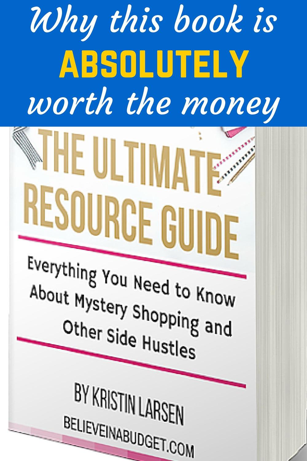 I don't normally recommend paying for this kind of information. So when I say thatThe Ultimate Resource Guide is worth the money, you know to take it seriously.