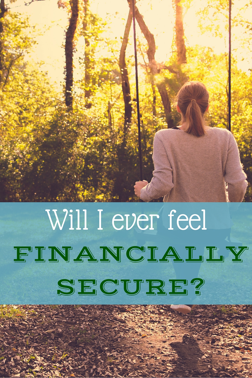 Even with frugality and careful personal finance, it's hard to feel like you have financial security.