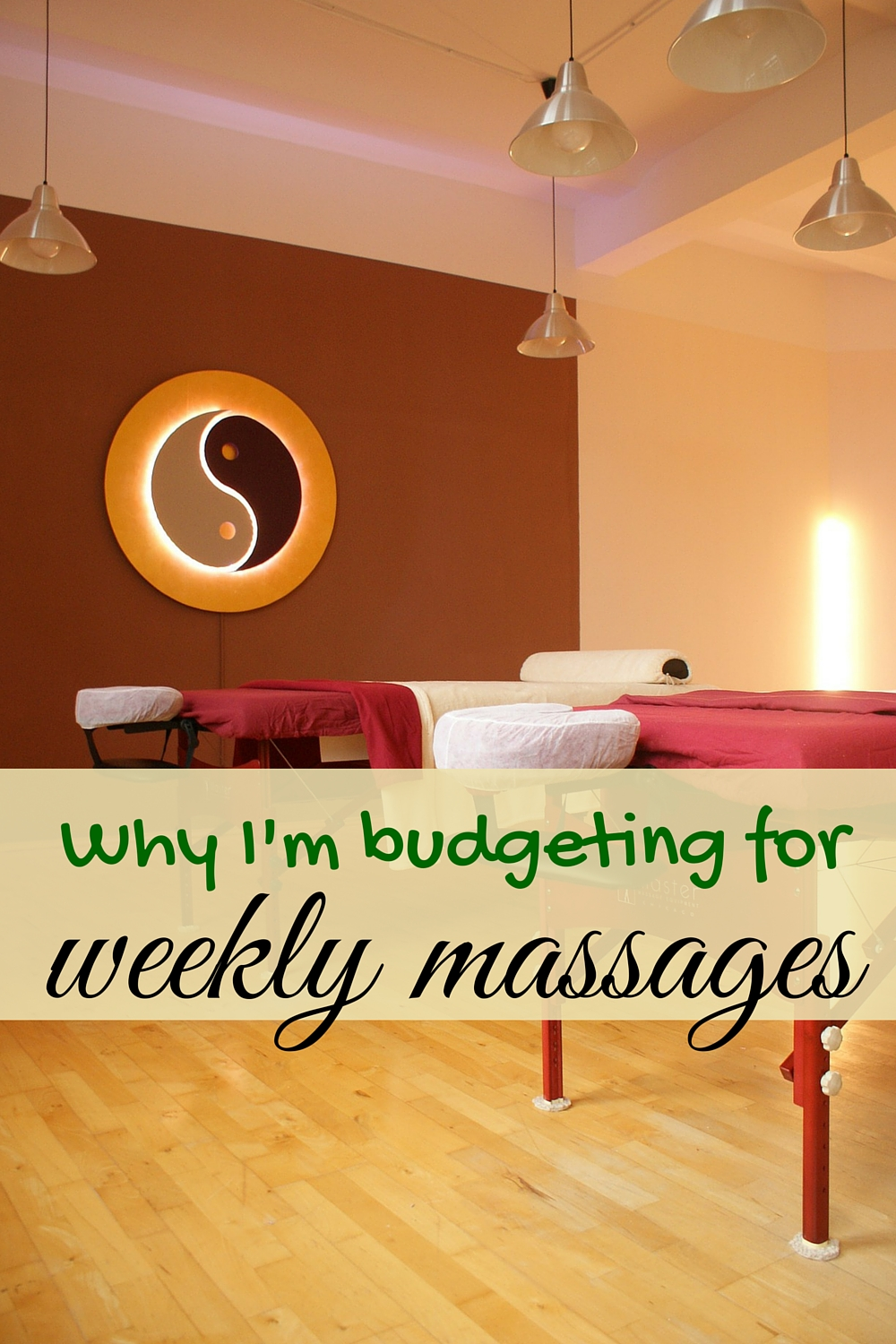 Despite being frugal, sometimes massages need to be worked into the budget. Especially if your spouse has fibromyalgia.