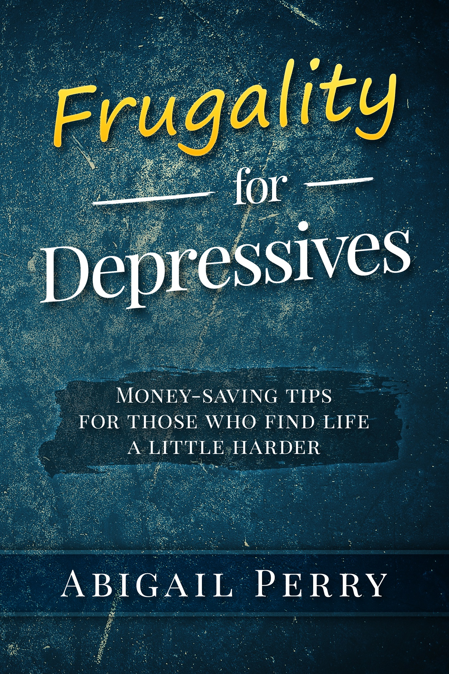 A great guide to saving money even with depression!