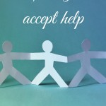Learning to accept help
