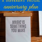 A different frugal anniversary plan