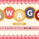 Get up to $30 with Swagbucks Pie Fest