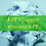 A PF blogger who can't PF