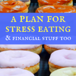 A plan for stress eating (and financial stuff too)