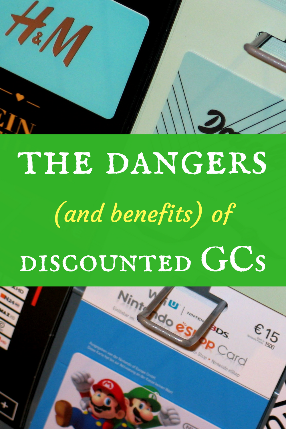 Discounted GCs can be a great frugal tool -- or a dangerous one.