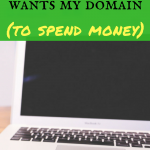 AmEx wants my domain (to spend money)