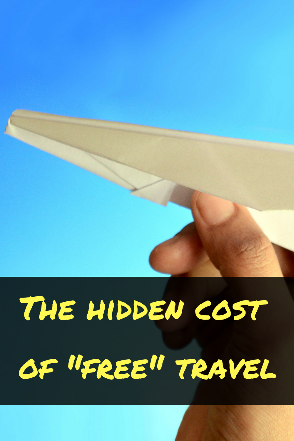 Travel rewards are frugal -- but the costs still add up!