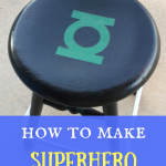 How to make superhero stools