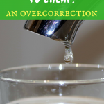 From frugal to cheap: An overcorrection