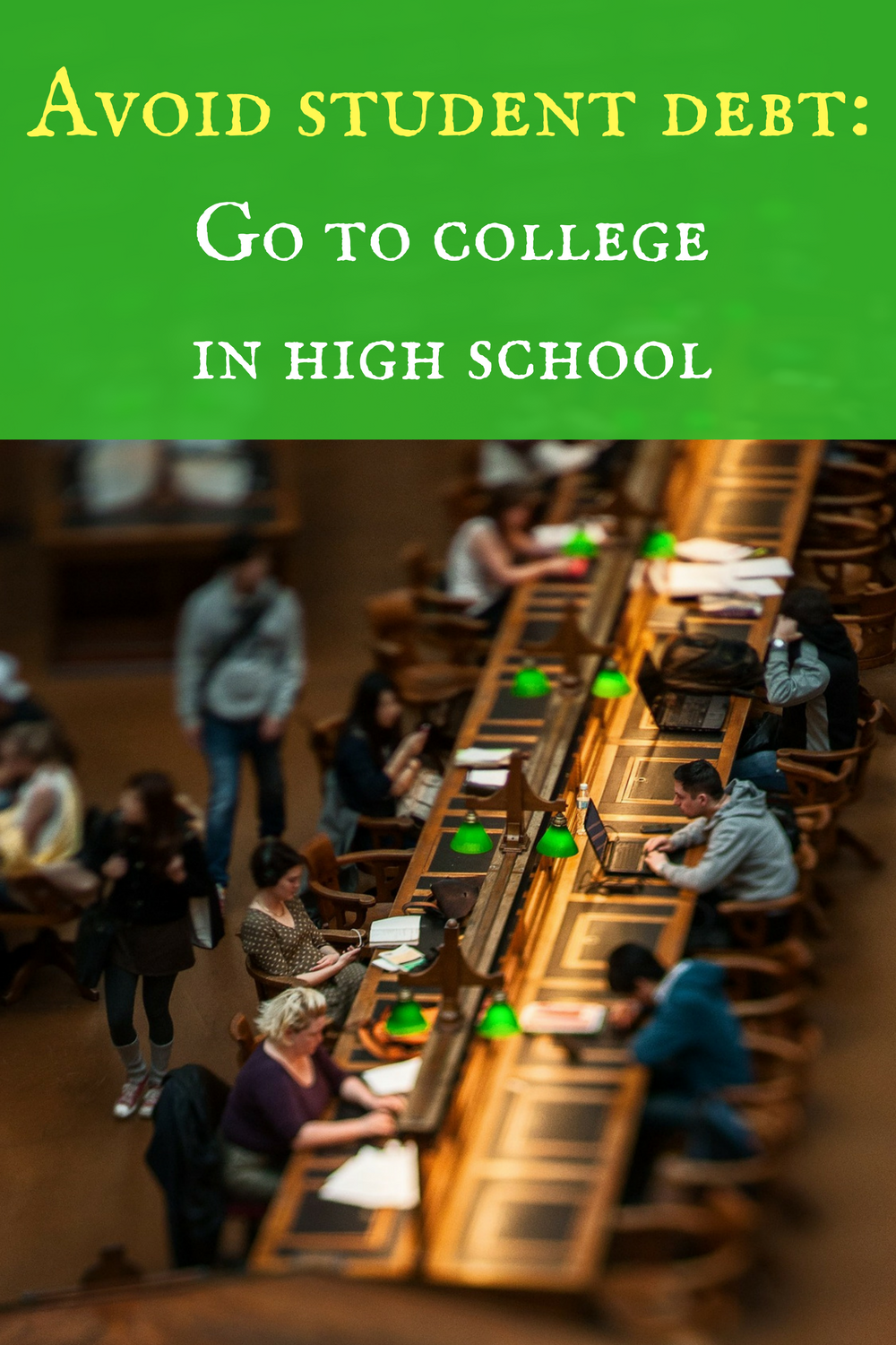 Want to go to college frugally? Dual enrollment!
