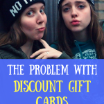 The problem with discount gift cards