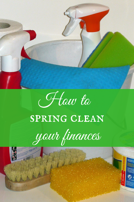 Clean up your finances!