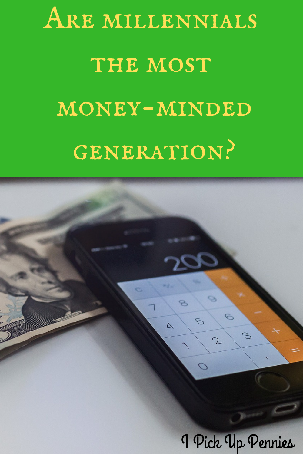 Millennials might be the generation most focused on personal finance!