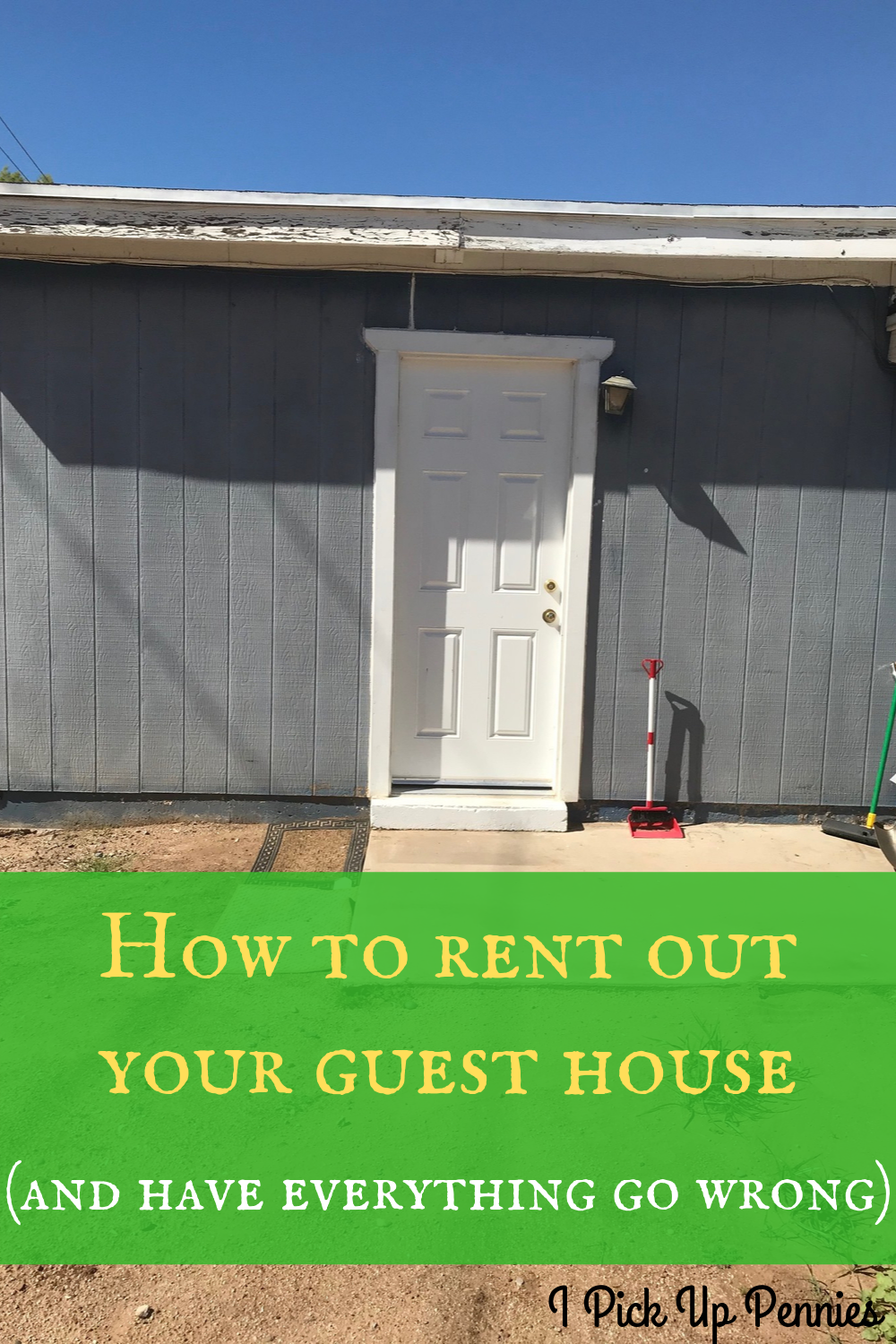 How to rent out a guest house (plus some debacles!) #landlord