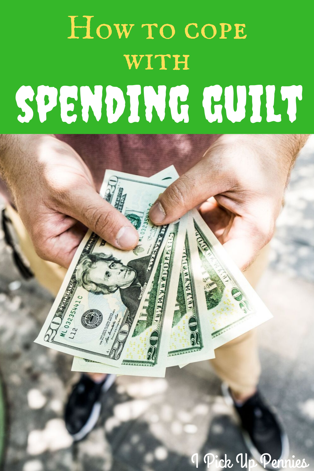 Great ways to deal with spending guilt when you're frugal!