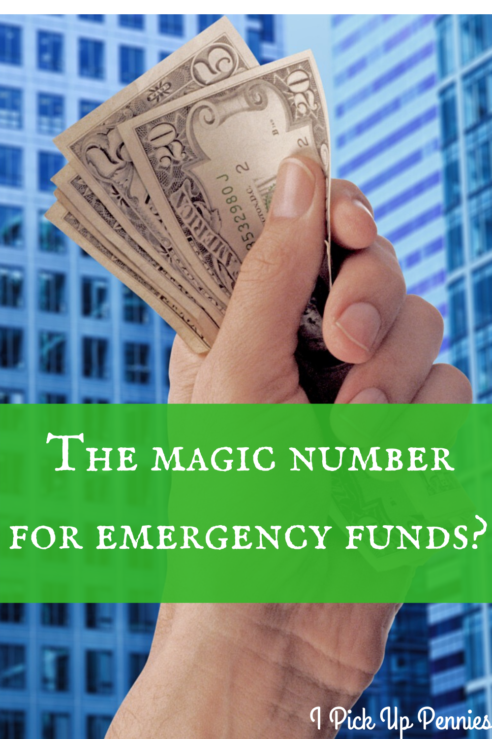 How much money should be in your emergency fund? #frugal #money