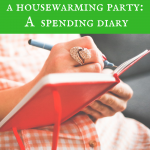 Of junk food, discounted gift cards and a housewarming party: A spending diary