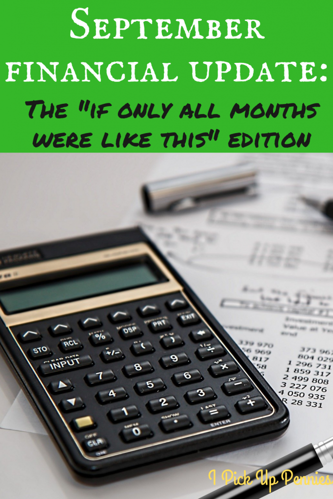 A look at how my #finances and #saving went this month. #personalfinance #money #savemoney #savingrate #frugality