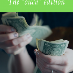 """September spending report: The """"ouch"""" edition"""